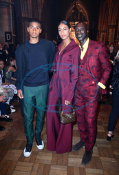 Ozwald Boateng,  návrhář,  rodina,  Julien Macdonald London Fashion Week Spring/Summer 2020,  přehlídka