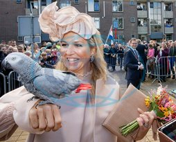 King Willem-Alexander and Queen Maxima visit southwest Drenthe 	Photo: Albert Nieboer / Netherlands OUT / Point de Vue OUT