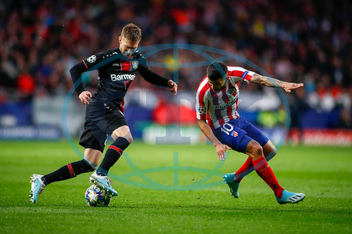 Soccer: Champions League- At Madrid v Bayer Leverkusen