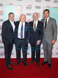 Ted Sarandos,  Anthony Hopkins,  Jonathan Pryce,  Scott Stuber