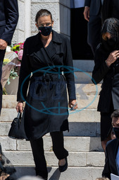 Stephanie,  princezna,  rouška,  Funeral of Countess Elizabeth-Ann de Massy Monaco