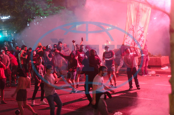 Covid-19 measures protested in Serbia