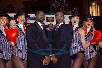 Roy JONES sportovec USA David TELESCO Rockettes