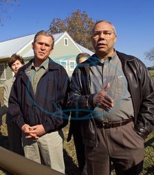Colin POWELL politik USA George Walker BUSH
