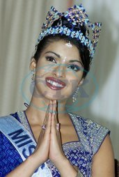 Prijanka CHOPRAOVÁ Miss World Indie