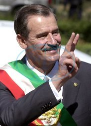 Vicente FOX - prezident Mexiko