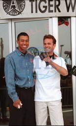 Luke PERRY herec USA Tiger WOODS sportovec USA