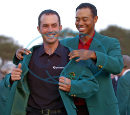 Mike WEIR,  Tiger WOODS
