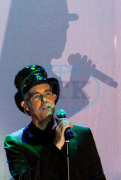 Neil TENNANT,  skupina Pet Shop Boys,  festival Love Planet