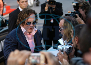 Mickey ROURKE,  herec,  autogram