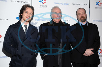 James McAvoy,  Christopher Plummer,  Paul Giamatti,  herec