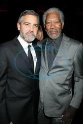 George Clooney,  Morgan Freeman,  herec
