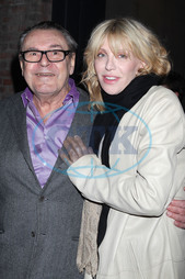 Miloš Forman,  Courtney Love