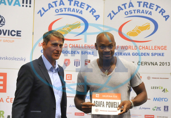 Asafa Powell,  sprinter,  Jan Železný