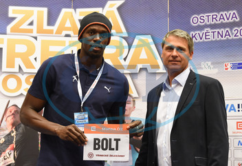 Jan Železný,  Usain Bolt