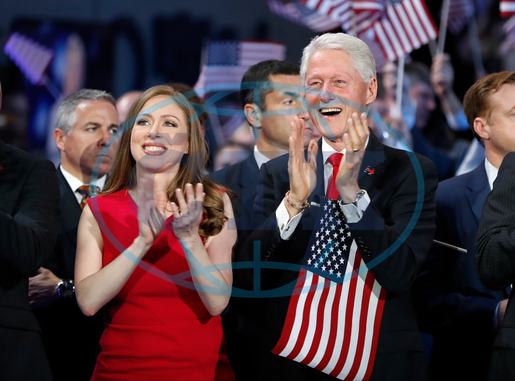 Chelsea Clinton,  Bill Clinton