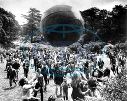 hippies,  Golden Gate Park,  balon,  Summer of Love