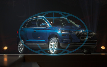 World Premier bran new SUV Skoda Karoq, car