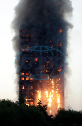 , Grenfell Tower,  požár