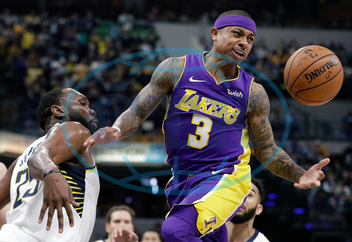 Isaiah Thomas,  Al Jefferson,  basketbalista,  sportovec,  míč,  APTOPIX Lakers Pacers Basketball