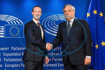 ANTONIO TAJANI,  MARK ZUCKERBERG