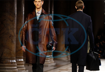 Berluti men's Fall-Winter 2019-20,  model,  přehlídka