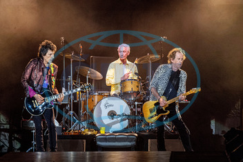 RONNIE WOOD,  CHARLIE WATTS,  KEITH RICHARDS,  Rolling Stones,  koncert