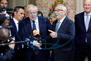 BORIS JOHNSON,  JEAN-CLAUDE JUNCKER
