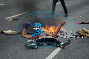 Venezuela-demonstrace-opozice, APTOPIX