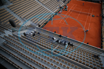 Sport-tenis-French Open-fanoušci