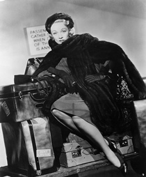 Marlene Dietrich,  herečka - Actress,  Germany - Scene from the movie 'No Highway'' - as Monica Teasdale Directed by: Henry Koster Great Britain / USA 1951 Pro