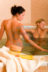 adult, aromatherapy, attractive, bath, beauty, body, care, caucasian, comfortable, cool, enjoying, female, freshness, harmony, health, healthcare, healthy, hydrotherapy, indoors, jacuzzi, leisure, lifestyle, luxury, naked, p