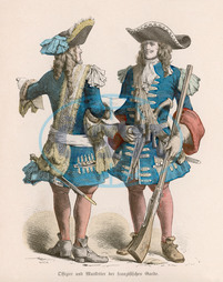 French soldiers 1690