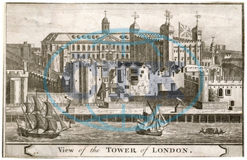LONDON/TOWER/C18TH