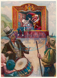 PUNCH & JUDY AT SEASIDE