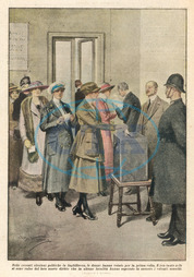 WOMEN VOTING/1918