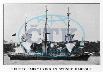 'CUTTY SARK' IN HARBOUR