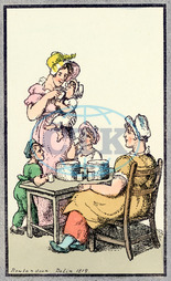 MOTHER GIVES CURDS 1819