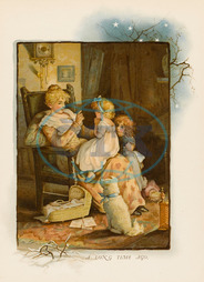 MOTHER TELLS STORY C1880