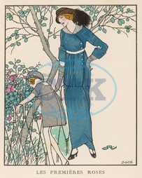 MOTHER & DAUGHTER 1913