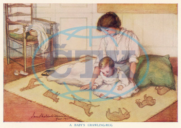 MOTHER/BABY CRAWLING RUG