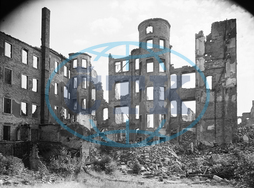End of the war - Destroyed Dresden 1945
