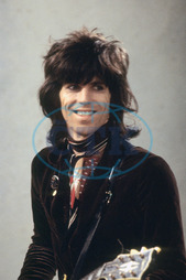 Keith Richards,  The Rolling Stones - LWT Studios,  London