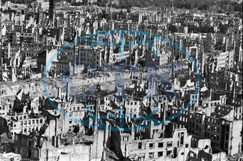 Post- War Era - Destroyed Dresden 1945- 1950