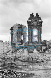 Post- War Era - Destroyed Dresden 1945 - 1955