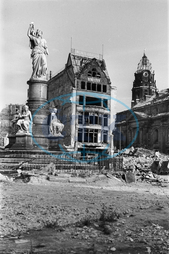Post- War Era - Destroyed Dresden 1945