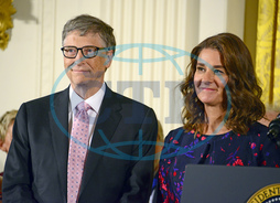 Bill and Melinda Gates Receive the Presidential Medal of Freedom