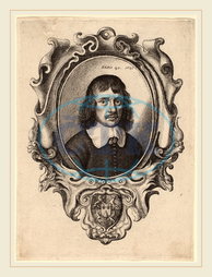 Wenceslaus Hollar, Bohemian, 1607-1677, Self-Portrait, 1647, etching, Wenceslaus, Hollar