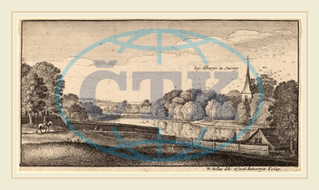 Wenceslaus Hollar, Bohemian, 1607-1677, Near Albury, 1645, etching, Wenceslaus, Hollar