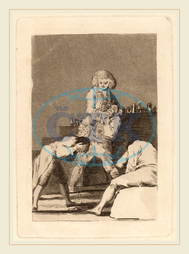 Francisco de Goya, Al Conde Palatino, To the Count Palatine, Spanish, 1746, 1828, before, 1799, etching, aquatint, drypoint, burin, working, proof, Francisco, de, Goya